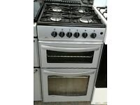 f312 silver new world 50cm gas cooker comes with warranty can be delivered or collected