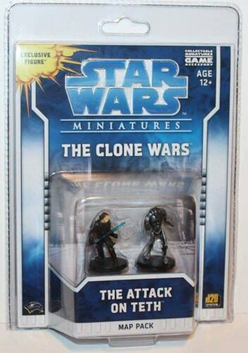 Wizards (2009) Star Wars Miniatures Map Pack The Clone Wars - The Attack on Teth