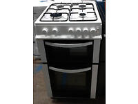 p553 white logik 50cm gas cooker comes with warranty can be delivered or collected