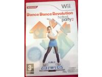 Wii DANCE DANCE REVOLUTION HOTTEST PARTY 2 GAME BOXED £5