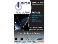 PHONE REPAIR FROM £9.99 .IPHONE SAMSUNG SONY OR NOKIA . WE FIX ALL KIND OF LAPTOPS & Pc