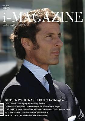 i-Magazine 1,Stephan Winkelmann,Tony Blair,Torquhil Campbell,Lord Hylton,Carter