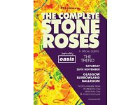 Face value tickets to see The Complete Stone Roses @ Glasgow Barrowlands - 26/11/16