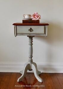 Antique shabby chic occasional table/night stand