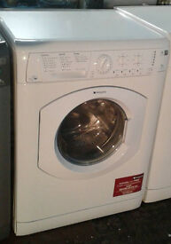 w269 white hotpoint 7kg 1200spin washer dryer comes with warranty can be delivered or collected