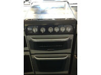 z500 silver cannon 50cm gas cooker comes with warranty can be delivered or collected