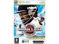 xbox 360 brian lara cricket 2007