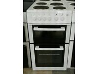 h372 white flavel 50cm solid ring electric cooker comes with warranty can be delivered or collected