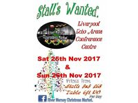 Stall Holders Wanted River Mersey Christmas Market Liverpool