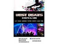 BEST BEATS EVENTS Dj HIRE~Surrey~London~Guildford