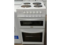 a085 white belling 50cm solid ring electric cooker comes with warranty can be delivered or collected