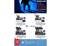 HD CCTV Installed from £280 & Wireless alarm systems installed from £300