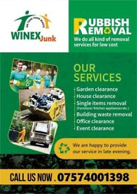 Low cost Rubbish/ Waste Removal Service 07574001398