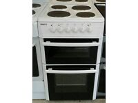 l368 white beko 50cm solid ring electric cooker comes with warranty can be delivered or collected