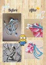 Phone charger cable& earphone cable cover Paralowie Salisbury Area Preview