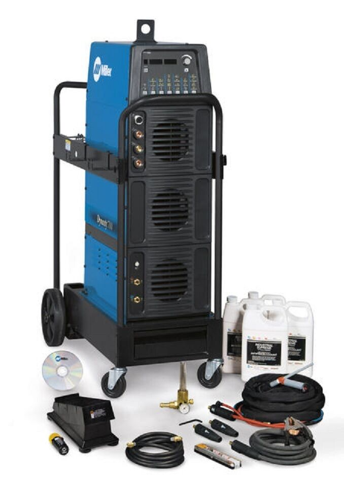 Miller 951404 Dynasty 700 Complete Ac/dc Tig Welder With Remote Foot Control