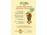 Free Spanish Lessons for Beginner at Elephant and Castle starting Next Monday 22nd of January