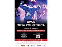Ultra White Collar Boxing Gala Tickets - 25th March 2017 @ Park Inn Northampton
