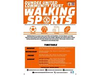 Walking football sessions for men and women