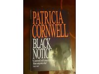 New book Black Notice by Patricia Cornwell