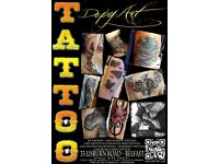 Tattoo artist! DepyArt south Belfast