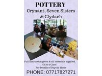 POTTERY AT SEVEN SISTERS COMMUNITY HALL