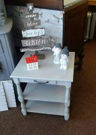 Grey side table - Funiture