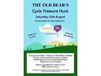 The Old Bear's - Cycle Treasure Hunt - Charity Event - Saturday 27th August