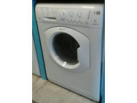 b056 white hotpoint 7kg 1400spin washer dryer comes with warranty can be delivered or collected