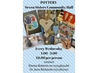 POTTERY CLASSES AT SEVEN SISTERS COMMUNITY CENTRE