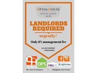 Landlords! We are happy to manage your property