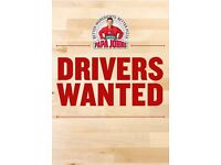 Delivery Drivers Wanted Part Time!