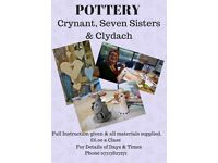 POTTERY SESSIONS CLASSES