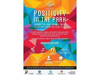 POSITIVITY IN THE PARK - FREE YOUTH FESTIVAL