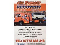 Jim Donnelly Vehicle Breakdown/Accident Roadside Recovery Rescue Services Blantyre