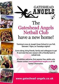 Back to Netball Sessions
