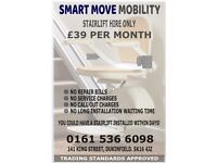 Stairlift hire only £39 a month, Fitted Fast,