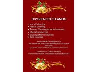 Christmas soon---Call and book regular cleaning or just one off---Cleaning services