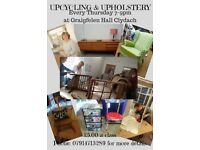 UPCYCLING & UPHOLSTERY