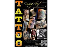 tattoo artist,tattoo work,tattoo
