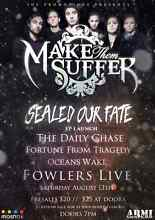 Make Them Suffer tickets for sale. Parafield Gardens Salisbury Area Preview