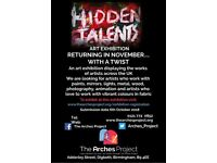 Hidden Talents Fine Art Exhibition - A Call For Artists