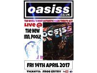 Oasiss UK The New Inn Gig