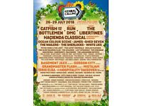 Adult Kendal Calling weekend camping with Thursday entry.