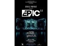 Eric Prydz 5.0 London Saturday 27th March