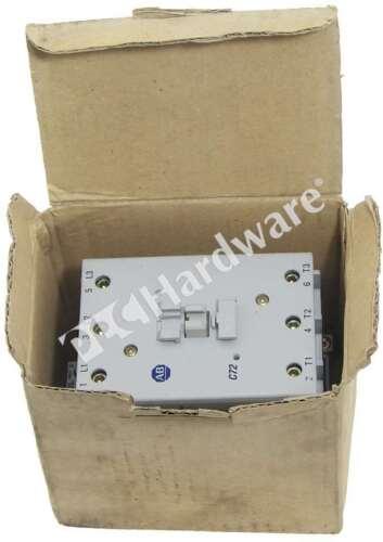 New Allen Bradley 100-C72L10 /B MCS-C Contactor IEC 3-P 72A 1NO 0NC