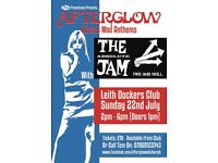 An Afternoon of Live music featuring songs by the Jam and many other Mod Anthems