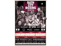 Bath city boxing tickets for Sunday