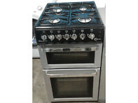 D413 silver flavel 50cm gas cooker comes with warranty can be delivered or collected