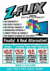 LOWEST PRICES IN WINDSOR FOR INTERNET TV PHONE & SECURITY !!